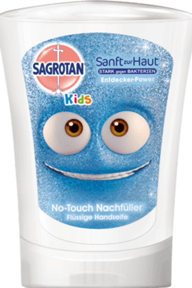Sagrotan Kids Seife No Touch Nachfüller Entdecker-Power, 250 ml