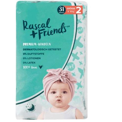 Rascal+Friends Windeln Grösse 2, 4-8 kg, 31 St