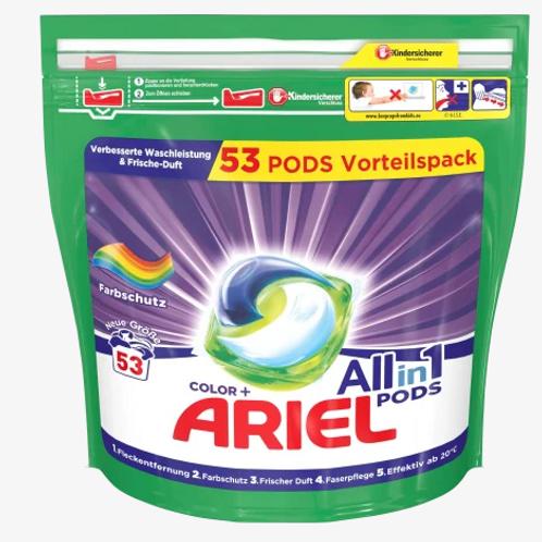 Ariel Colorwaschmittel  All-in-1 PODS, 53 Wl