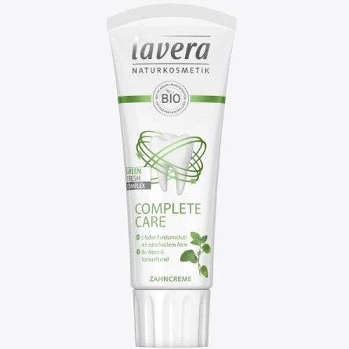 Lavera Zahnpasta complete care mit Bio-Minze, 75 ml
