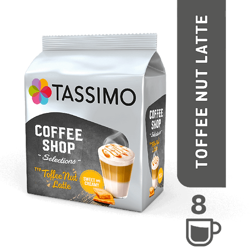 Coffee Shop Toffee Nut Latte System TASSIMO