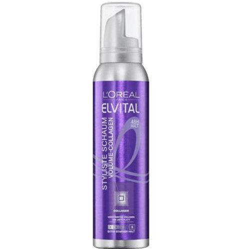 L'Oreal Elvital Schaumfestiger Styliste Volume-Collagen, 150 ml