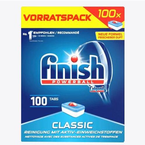 finish Spülmaschinen-Tabs Classic Vorratspack, 100 St