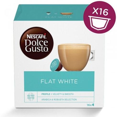 Dolce Gusto® Kapsel von NESCAFÉ® Flat White Kaffee 16 Kapseln