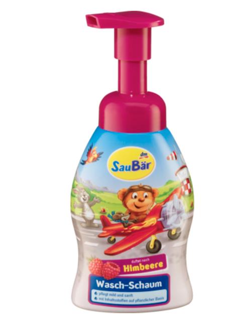 Saubär Seife Wasch-Schaum, 250 ml Himbeer