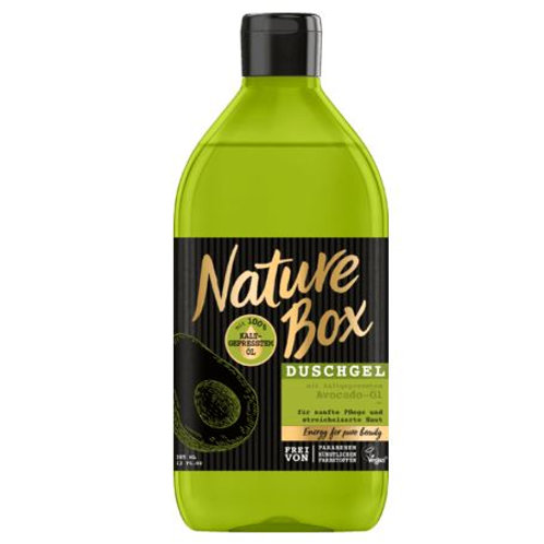 Nature Box Duschgel Avocado-Öl, 385 ml