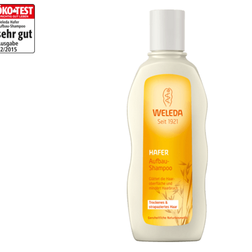 Weleda Shampoo Aufbau Hafer, 190 ml