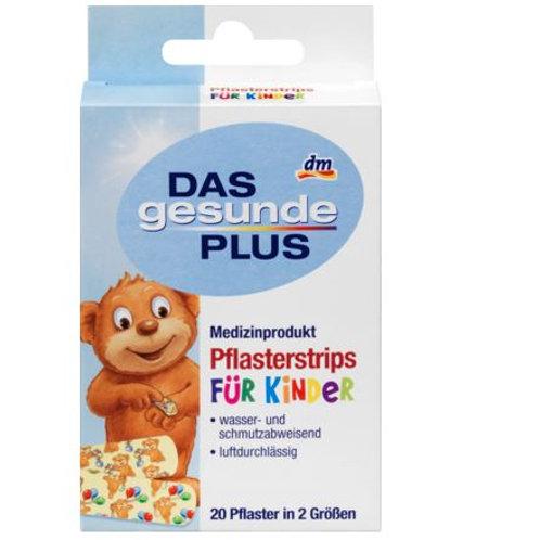 DAS gesunde PLUS Pflasterstrips für Kinder, 20 St