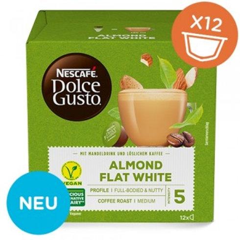 Dolce Gusto Kapsel von Nescafé Almond Flat White 12 Kapseln