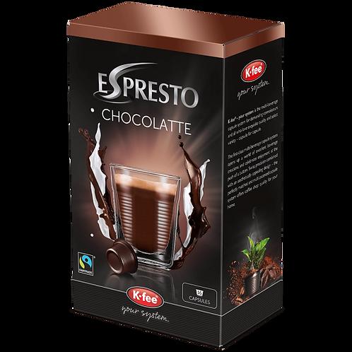 K-Fee Kaffeekapseln ESPRESTO Chocolatte