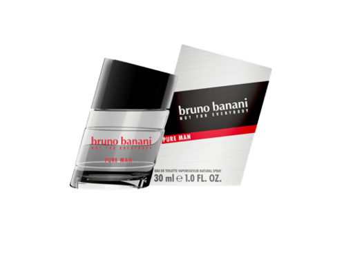Bruno Banani Eau de Toilette Pure Man, 30 ml