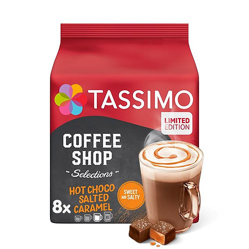 TASSIMO Coffee Shop Hot Choco Salted Caramel System TASSIMO  Limited Edition