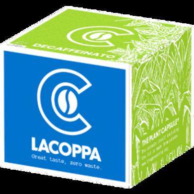 NESPRESSO® komp. Kapsel LACOPPA DECAFFEINATO BIO (Kompostierbar)