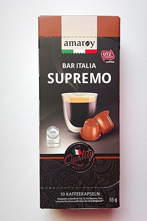 NESPRESSO® Kompatible Kaffeekapseln AMAROY Bar Italia SUPREMO