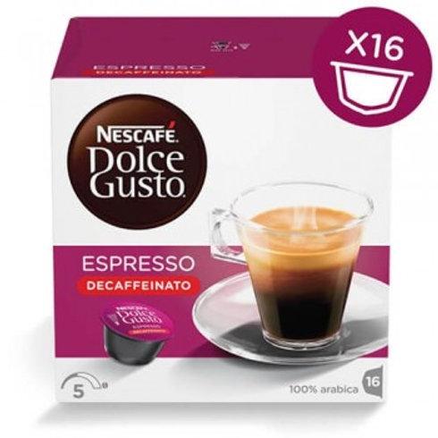 Dolce Gusto Kapsel von Nescafé Espresso Decaffeinato