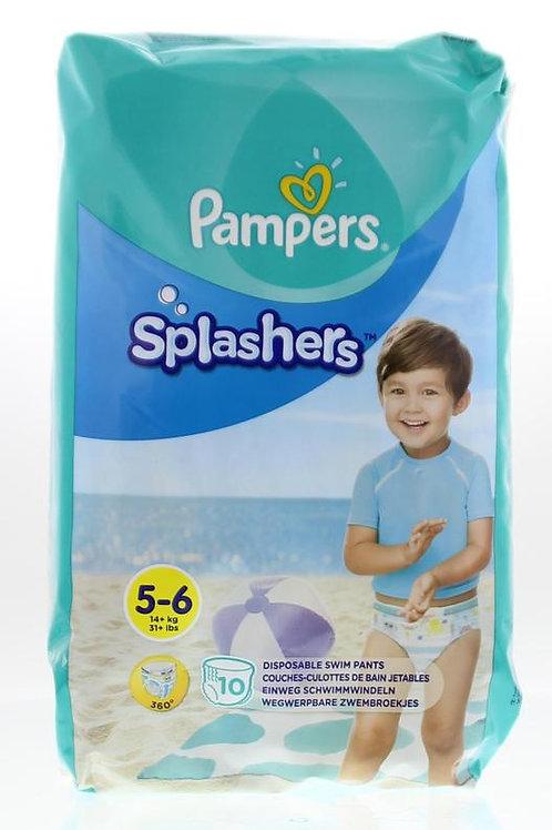 Pampers Splashers Grösse 5-6 Schwimmwindeln 10 Stück