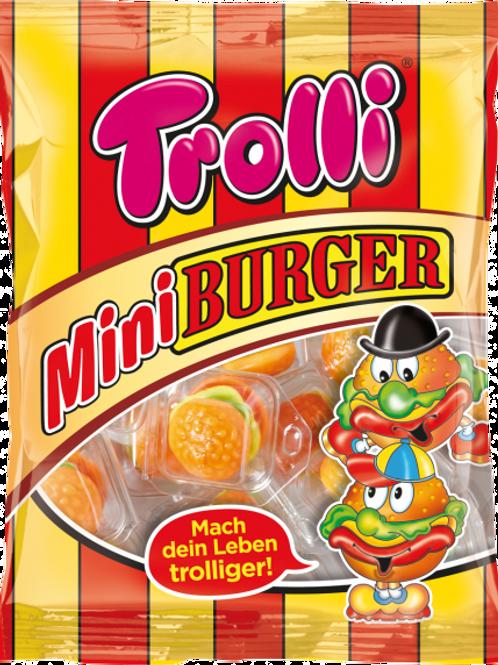Trolli Mini Gummi Burger, Beutel 170 gramm