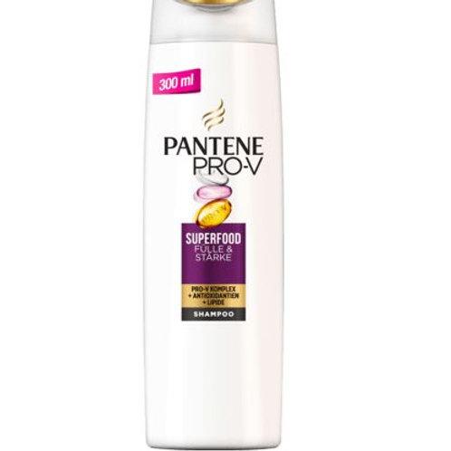 PANTENE PRO-V Shampoo Superfood Fülle&Stärke, 300 ml