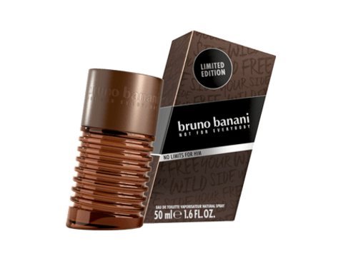 Bruno Banani Eau de Toilette Man No Limits, 50 ml