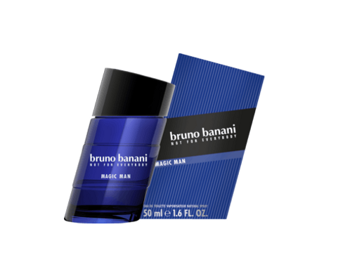 Bruno Banani Eau de Toilette Magic Man, 50 ml