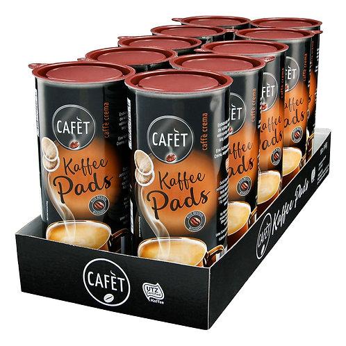 Cafet Kaffee Pads Crema 144 g, 20er Pack
