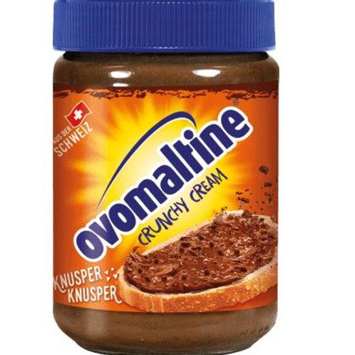 Ovomaltine Brotaufstrich crunchy cream mit Ovomaltine & Haselnüsse