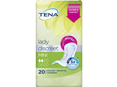 TENA Lady Discreet Mini, 20 pcs