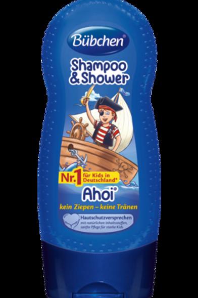 Bübchen Kids Shampoo & Shower Ahoi, 230 ml
