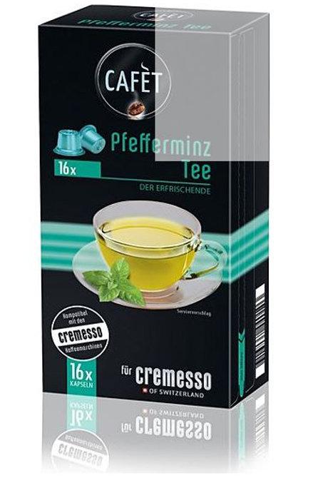 DELIZIO® Kompatible Kapsel CAFET *Pfefferminz  TEE*