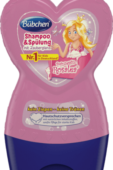 Bübchen Kids Shampoo & Spülung Prinzessin Rosalea, 230 ml