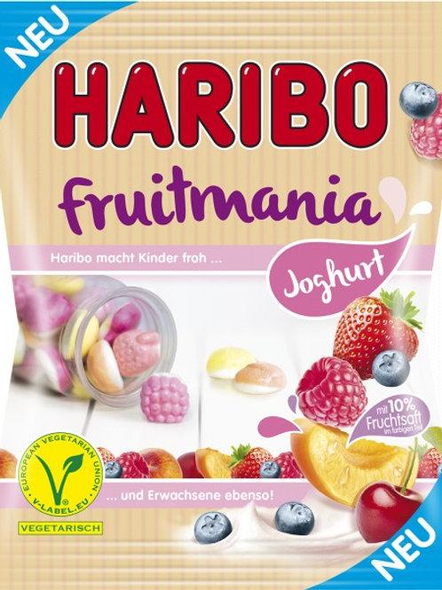 Haribo Fruitmania Joghurt Vegetarisch, Beutel 175 gramm