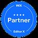 4 Sterne Partner von Wix.com