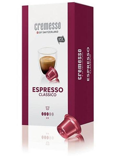 DELIZIO® Kompatible Kapsel CREMESSO *ESPRESSO CLASSICO* 48er Pack