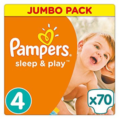 Pampers Sleep and Play 4 Maxi