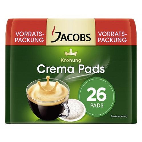 Pads von Jacobs Krönung Crema Vorratspackung 26er