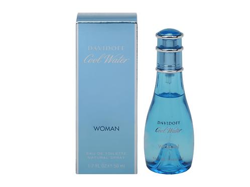Davidoff Eau de Toilette Cool Water Woman, 50 ml
