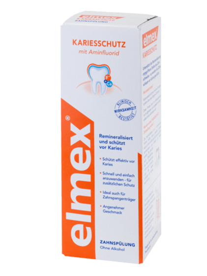 Elmex Mundspülung Kariesschutz, 400 ml