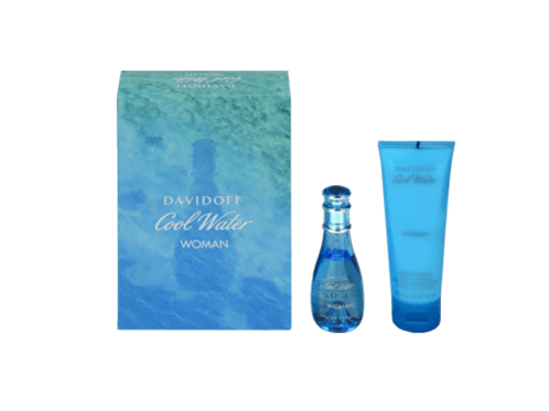 Davidoff GP Eau de Toilette 30ml + Body Lotion 75 ml Cool Water Woman, 1 S