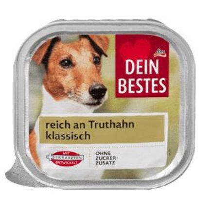 Dein Bestes Nassfutter für Hunde, reich an Truthahn klassisch, 300 g