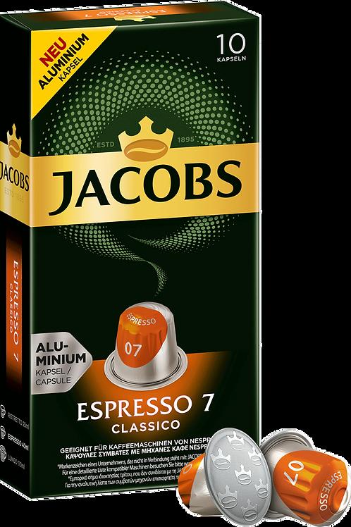 NESPRESSO® kompatible Kapsel Jacobs Espresso 7 Classico
