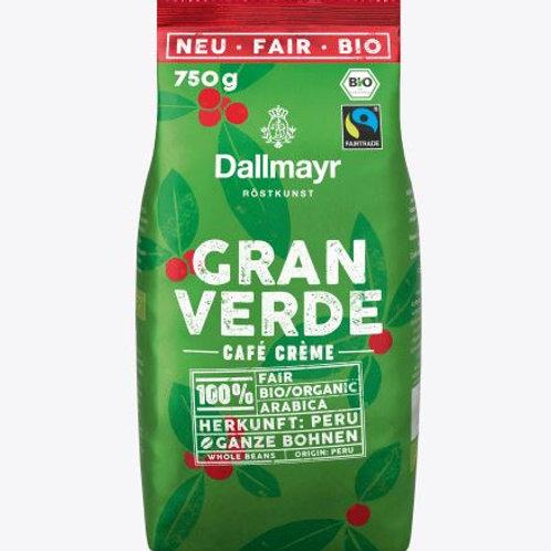Dallmayr Gran Verde Kaffee, ganze Bohne, 750 g