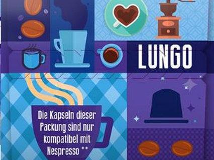 Nespresso® kompatible BioBio LUNGO Kaffeekapseln (10 Kapseln)