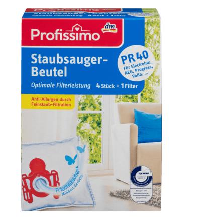 10040 Profissimo Staubsaugerbeutel TYP P