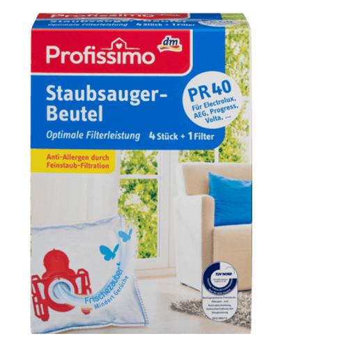 Profissimo Staubsaugerbeutel TYP PR 40