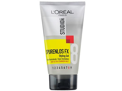 L'oréal Studio Line Styling Gel Traceless FX Ultra Strong Hold, 150 ml