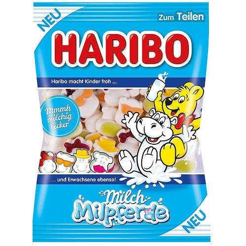 HARIBO Milch Milpferde, Beutel 175 gramm