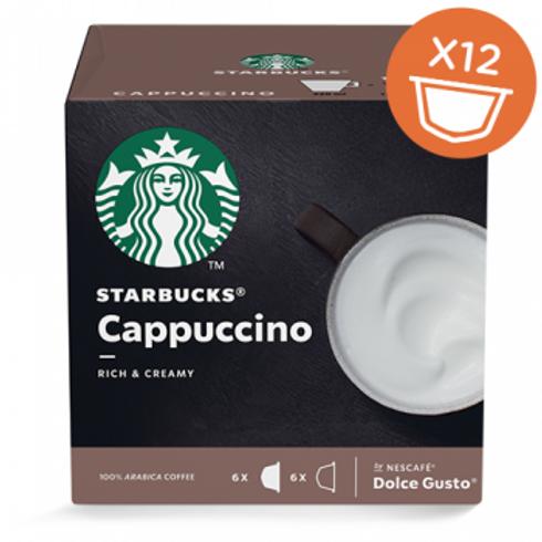 Dolce Gusto Kapsel von STARBUCKS Cappuccino