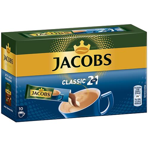 Jacobs Sticks 2in1 Classic 10er 140g Instantkaffee