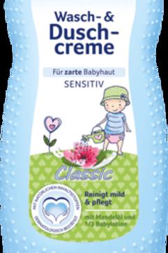 Bübchen Wasch- & Duschcreme Sensitiv Classic, 230 ml
