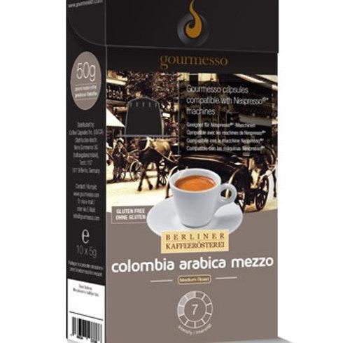 Nespresso® Kompatible Kapsel von GOURMESSO ESPRESSO COLOMBIA ARABICA MEZZO